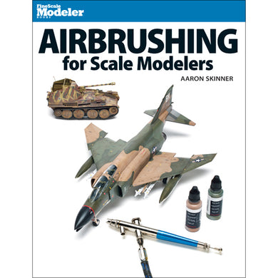 Kalmbach Airbrushing Scale Models Book 12485