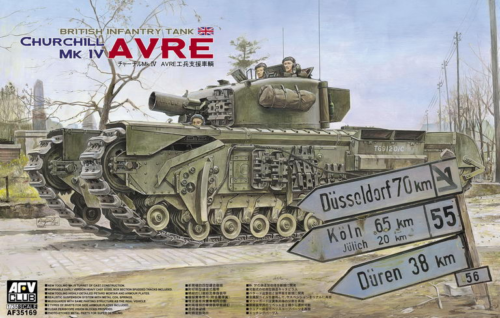 AFV Club 1/35 British Churchill Mk. IV AVRE 35169