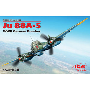 ICM 1/48 German Ju 88A-5 Bomber 48232