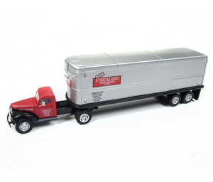 Classic Metal 1/87 HO Chevy Tractor Trailer 1941/46  Strickland 31176