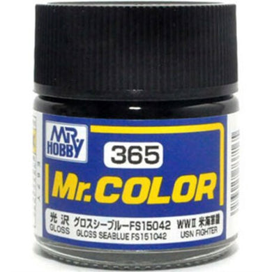 Mr. Hobby Mr. Color Lacquer C365 Gloss Seablue FS151042 C365 10ml