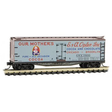 Micro-Trains MTL N Farm To Table #12 Our Mother's Cocoa Reefer #12 04900880