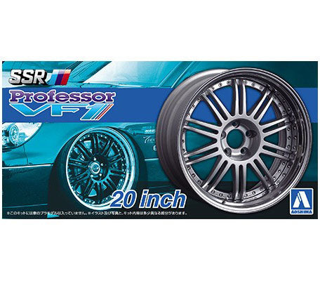Aoshima 1/24 Rim & Tire Set ( 27) SSR Professor VF1 20