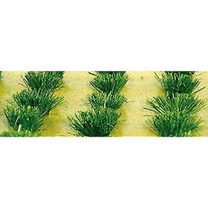 "JTT HO Scale Detachable Grass Bushes 3/8"" Tall (30) 95580"