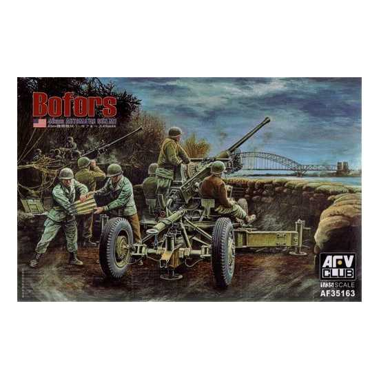 AFV Club 1/35 US Bofors 40mm Automatic Gun M1 35163