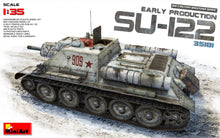 Load image into Gallery viewer, MiniArt 1/35 Russian SU-122 Self Propelled Gun Early Production 35181
