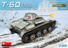 Load image into Gallery viewer, Miniart 1/35 Russian T60 Tank w/ Interior 35215