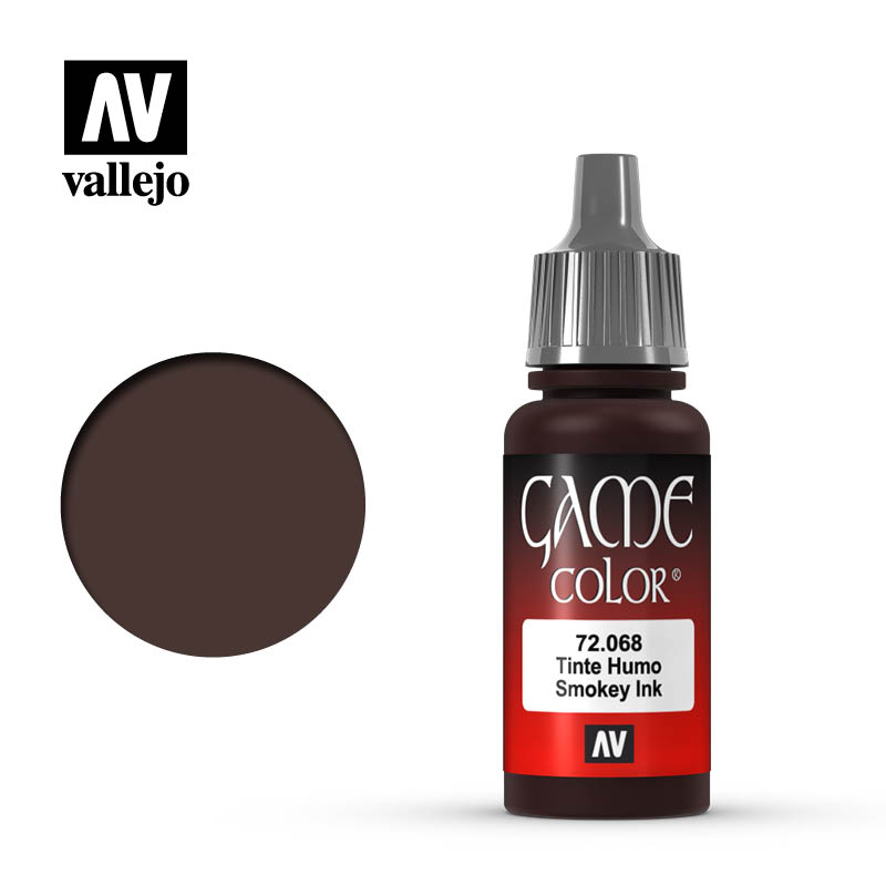 Vallejo Game Color 72.068 Smokey Ink 17ml