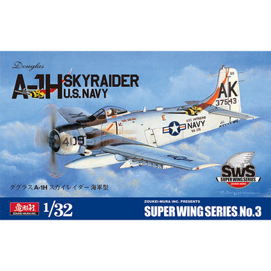 Zoukei-Mura 1/32 US Navy A-1H Skyraider Super Wings Series No. 3