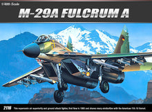 Load image into Gallery viewer, Academy 1/48 Russian Mig-29 Fulcrum A 12263
