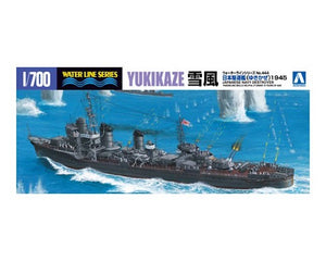 Aoshima 1/700 Japanese Destroyer Yukikaze 03395