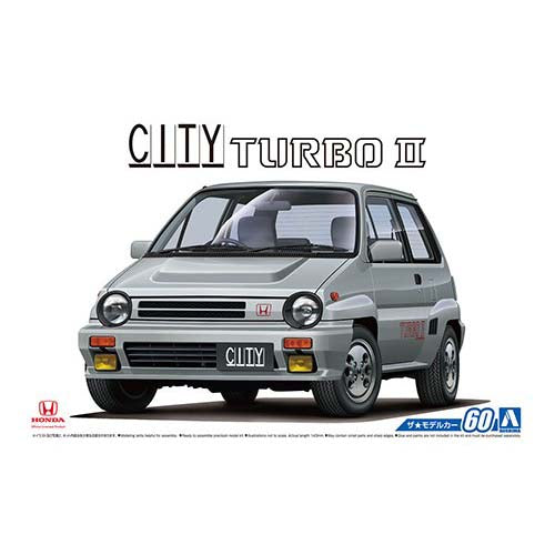 Aoshima 1/24 Honda AA City Turbo Ⅱ 1985 05480