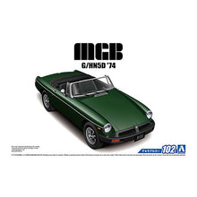 Load image into Gallery viewer, Aoshima 1/24 MGB MK-3 (1974) Plastic Model Kit 05686