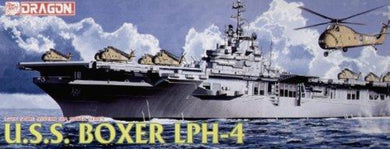 Dragon 1/700 USS Boxer LPH-4 Amphibious Assault Ship Plastic Model Kit 7070