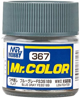 Mr. Hobby Mr. Color Lacquer C367 Flat Blue Grey C367 10ml