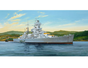 Trumpeter 1/350 German Heavy Cruiser Admiral Hipper 1941 with PE Parts 05317