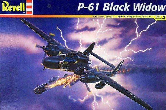 Revell 1/48 P-61 Black Widow 857546
