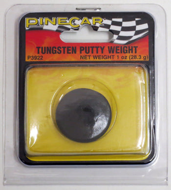 Pinecar P3922 Pinewood Derby Tungsten Putty 1 oz