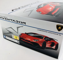 Load image into Gallery viewer, Aoshima 1/24 Lamborghini Aventador SV PLASTIC MODEL KIT 05120