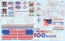 Load image into Gallery viewer, AMT 1/25 Custom Competition Decals American Pride Graphics MKA027