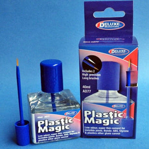 Deluxe Materials Plastic Magic Cement Glue AD77