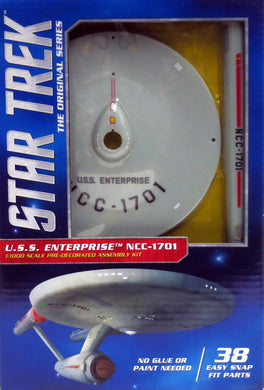 Polar Lights Star Trek 1/1000 Snap USS Enterprise NC-1701  POL936
