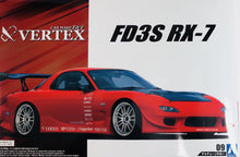 Load image into Gallery viewer, Aoshima 1/24 NIssan Vertex FD3S Mazda RX-7 1999 05239