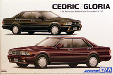 Load image into Gallery viewer, Aoshima 1/24 Nissan Cedric/Gloria Y31 V20 Plastic Kit 05483