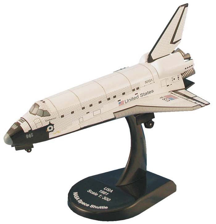 Model Power 1/300 Space Shuttle Endeavor 5823