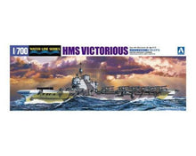 Load image into Gallery viewer, Aoshima 1/700 HMS Aircraft Carrier Victorious 05106