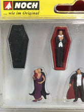 Load image into Gallery viewer, Noch 1/87 HO Vampire Figure Set Of 7 15801