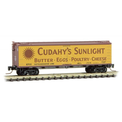 Micro-Trains Z Scale Cudahy Refrigerator Line 40' Wood Reefer #2 51800440
