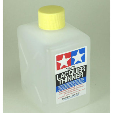 Tamiya 87077 Lacquer Thinner 8 oz 250ml