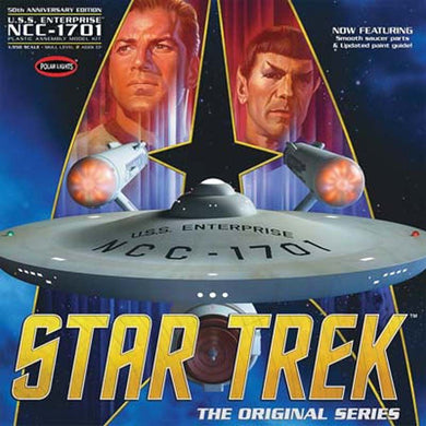Polar Lights Star Trek 1/350 USS Enterprise 50th Anniversary Edition Model Kit POL938
