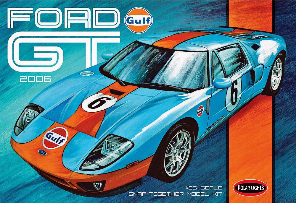 Polar Lights 1/25 Snap Ford GT 2006