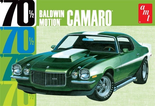 AMT 1/25 Chevrolet Camaro Baldwin Motion 1970 Dark Green AMT855 (DISC)