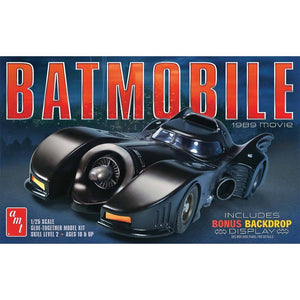 AMT 1/25 Batman Batmobile 1989 Movie Plastic Kit AMT935