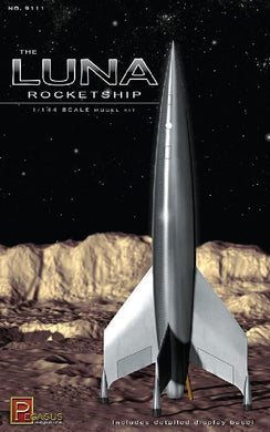 Pegasus 1/144 The LUNA Rocketship Plastic Model Kit 12