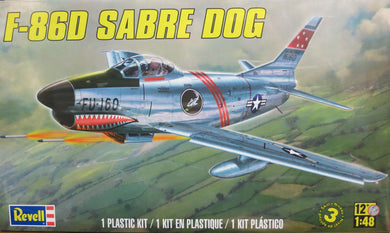 Revell 1/48 US F-86D Sabre Dog 855868