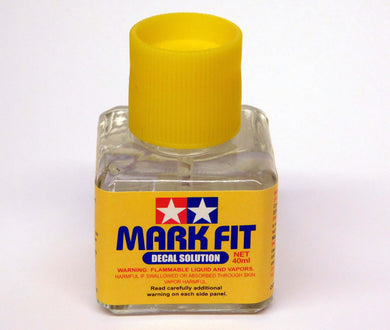 Tamiya 87102 Mark Fit Decal Solution 40ml Bottle