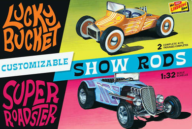 Lindberg 1/32 Customizable Street Rod HL136