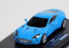Load image into Gallery viewer, Fronti-Art Avan Style 1/87 HO Aston Martin One-77 Teal Blue AM177LB