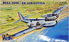 Load image into Gallery viewer, Valom 1/72 Bell YFM-1B Airacuda Heavy Fighter PLASTIC MODEL KIT 72036
