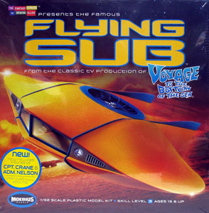 Moebius Voyage to the Bottom of the Sea 1/32 Flying Sub MOE817