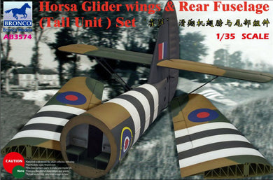 Bronco 1/35 Horsa Glider Wings & Rear Fuselage Set 3574