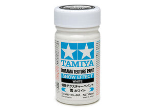 Tamiya 87119 Dio Texture Paint, Snow Effect White