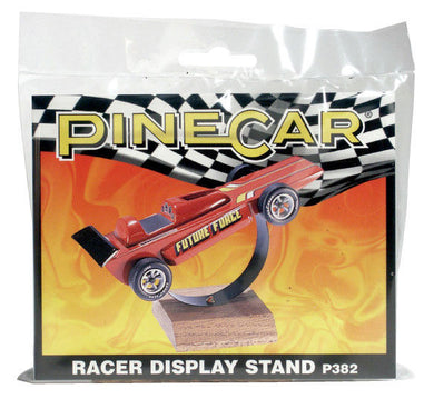 Pinecar P382 Pinewood Derby  Racer Display Stand