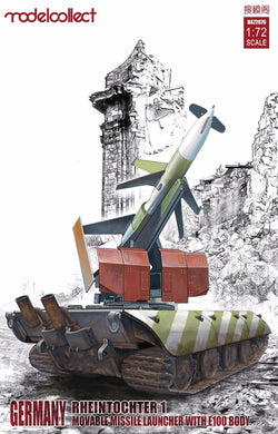 Modelcollect 1/72 German Rheintochter 1 Missile Launcher W/E100 Body UA72076