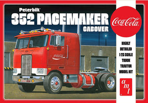 "AMT 1/25 Peterbilt 352 Pacemaker Truck Cabover  ""Coca-Cola"" Model Kit AMT1090"