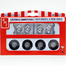 Load image into Gallery viewer, AMT 1/25 Custom & Competition Wild Wheels N Wide Ovals PP020